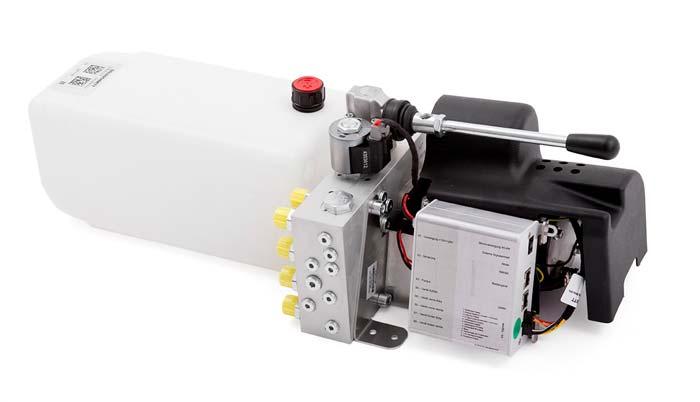 Pro Hydraulik Pumpenaggregat WoMo